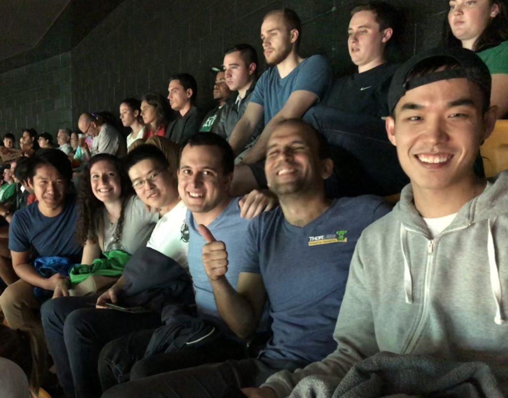 At the Celtics 1