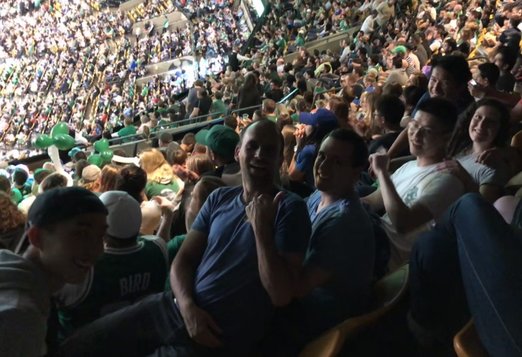 At the Celtics 2